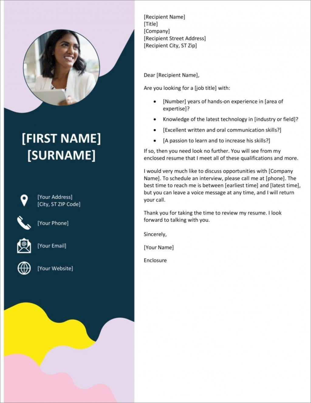 005 Striking Microsoft Cover Letter Template Download Inspiration  Word FreeLarge