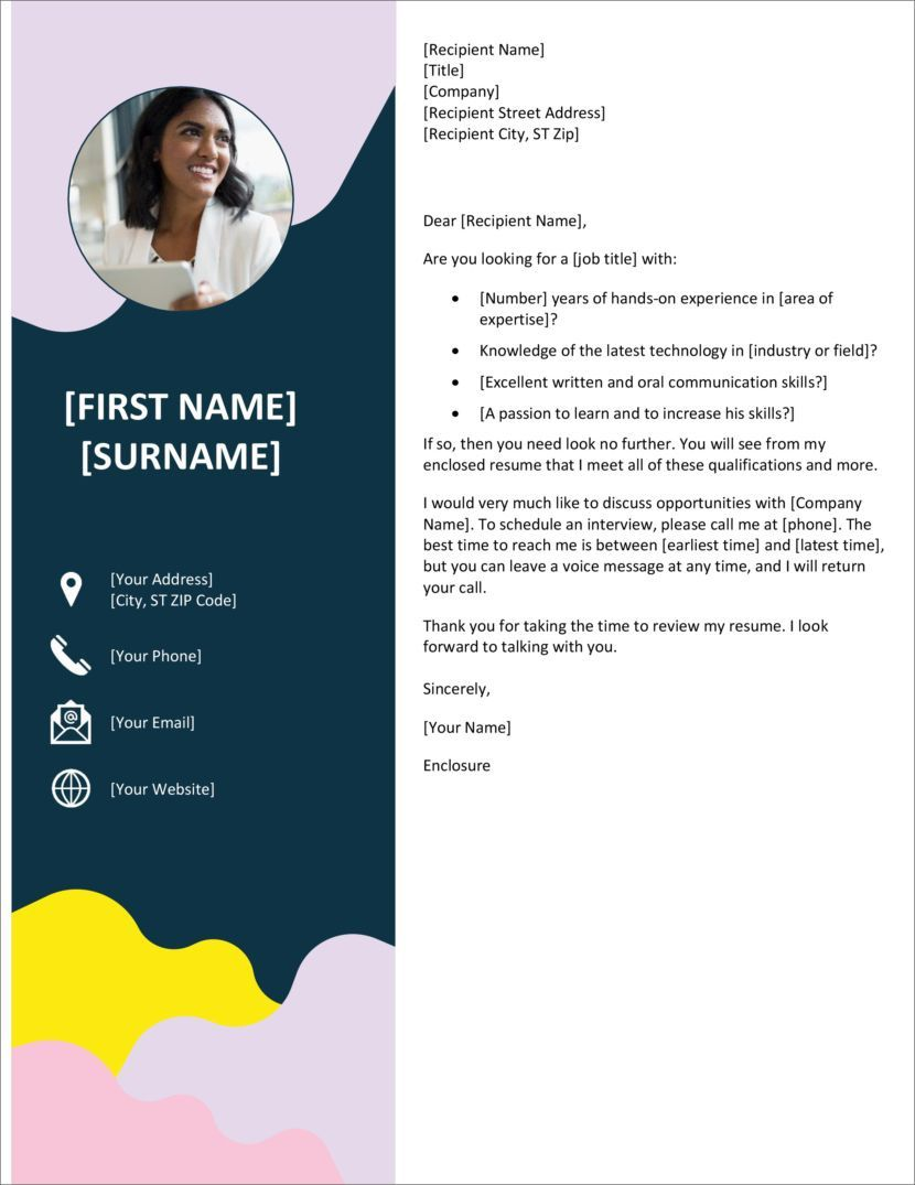 005 Striking Microsoft Cover Letter Template Download Inspiration  Word FreeFull
