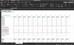 005 Striking Microsoft Office Excel Monthly Budget Template Idea