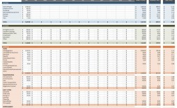 005 Striking Monthly Cash Flow Template Excel Uk High Definition