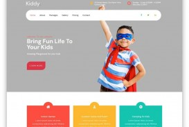 005 Striking One Page Website Template Free Download Bootstrap Design