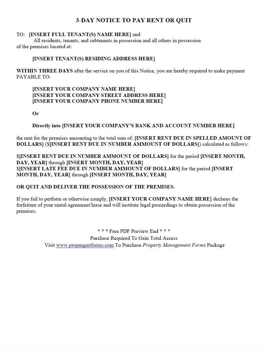 005 Striking Property Management Agreement Template Pdf Example  ContractFull