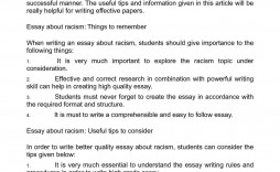 005 Striking Racism Essay Idea  Brainly Writing Competition Tagalog