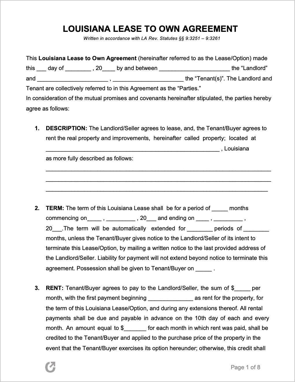 005 Striking Rent To Own Template High Resolution  Lease Agreement Canada ExampleFull