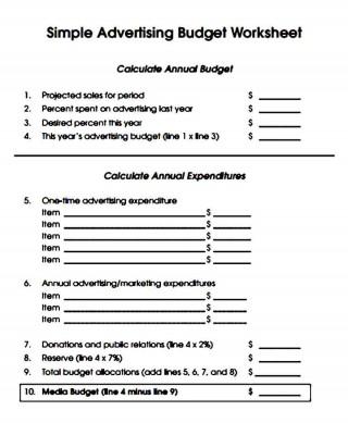 005 Striking Sample Line Item Budget Template Photo 320
