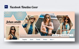 005 Stunning Facebook Cover Photo Photoshop Template Inspiration  2019 Page Profile Picture Size