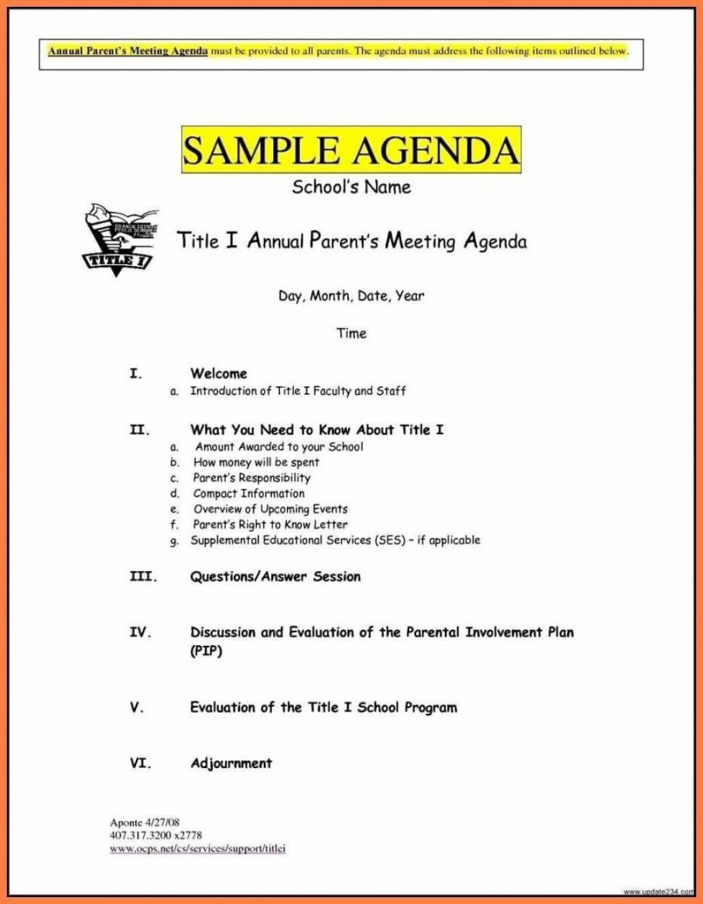 005 Stunning Formal Meeting Agenda Template Doc Picture Large