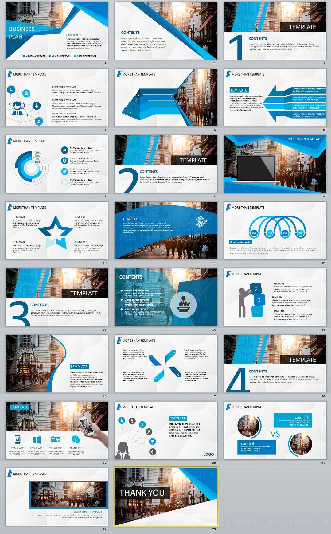 005 Stunning Free Busines Plan Powerpoint Template Download High Definition  Modern UltimateFull