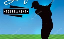 005 Stunning Free Charity Golf Tournament Flyer Template Design