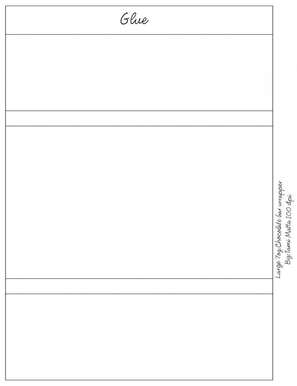 005 Stunning Free Chocolate Bar Wrapper Template Word Idea  ForLarge