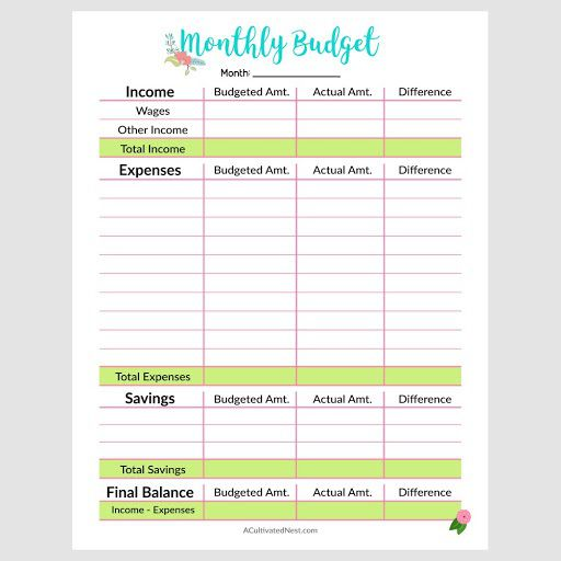 005 Stunning Free Monthly Budget Template Uk Highest Quality  Spreadsheet Household Planner Printable PersonalFull