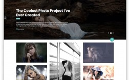 005 Stunning Free Website Template Download Html And Cs For Photo Gallery High Resolution