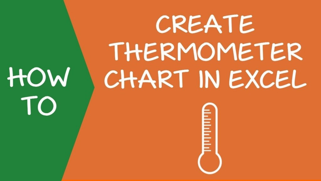005 Stunning Goal Thermometer Template Excel Image  Chart Download FreeLarge