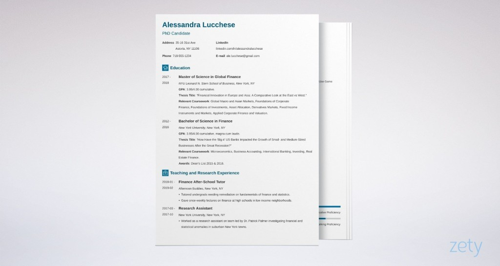 005 Stunning Grad School Application Cv Template Design  Graduate Microsoft WordLarge