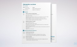 005 Stunning Grad School Application Cv Template Design  Graduate Microsoft Word