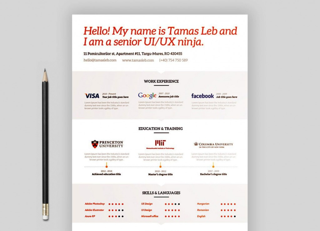 005 Stunning Resume Template Word 2007 Free High Definition  Microsoft Office For MLarge