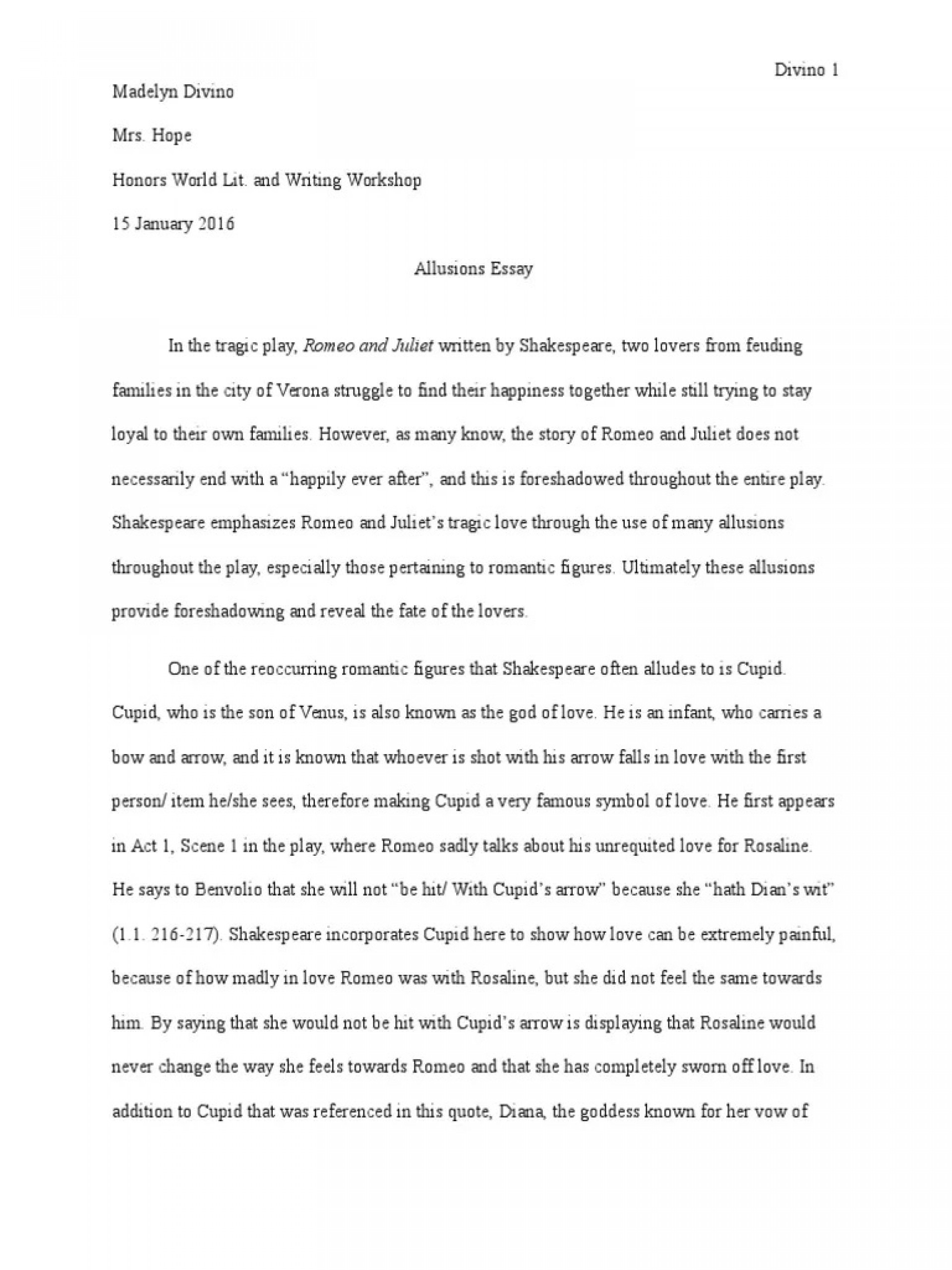 005 Stunning Romeo And Juliet Essay Inspiration  Who I Responsible For Juliet' Death Introduction Hook Question Pdf1920