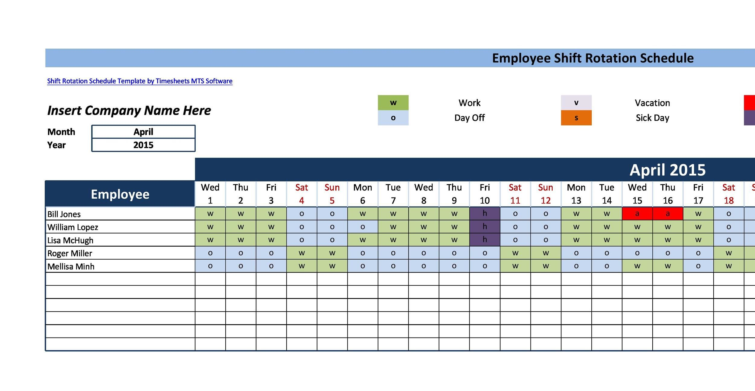 005 Stupendou 12 Hour Rotating Shift Schedule Example Design  ExamplesFull