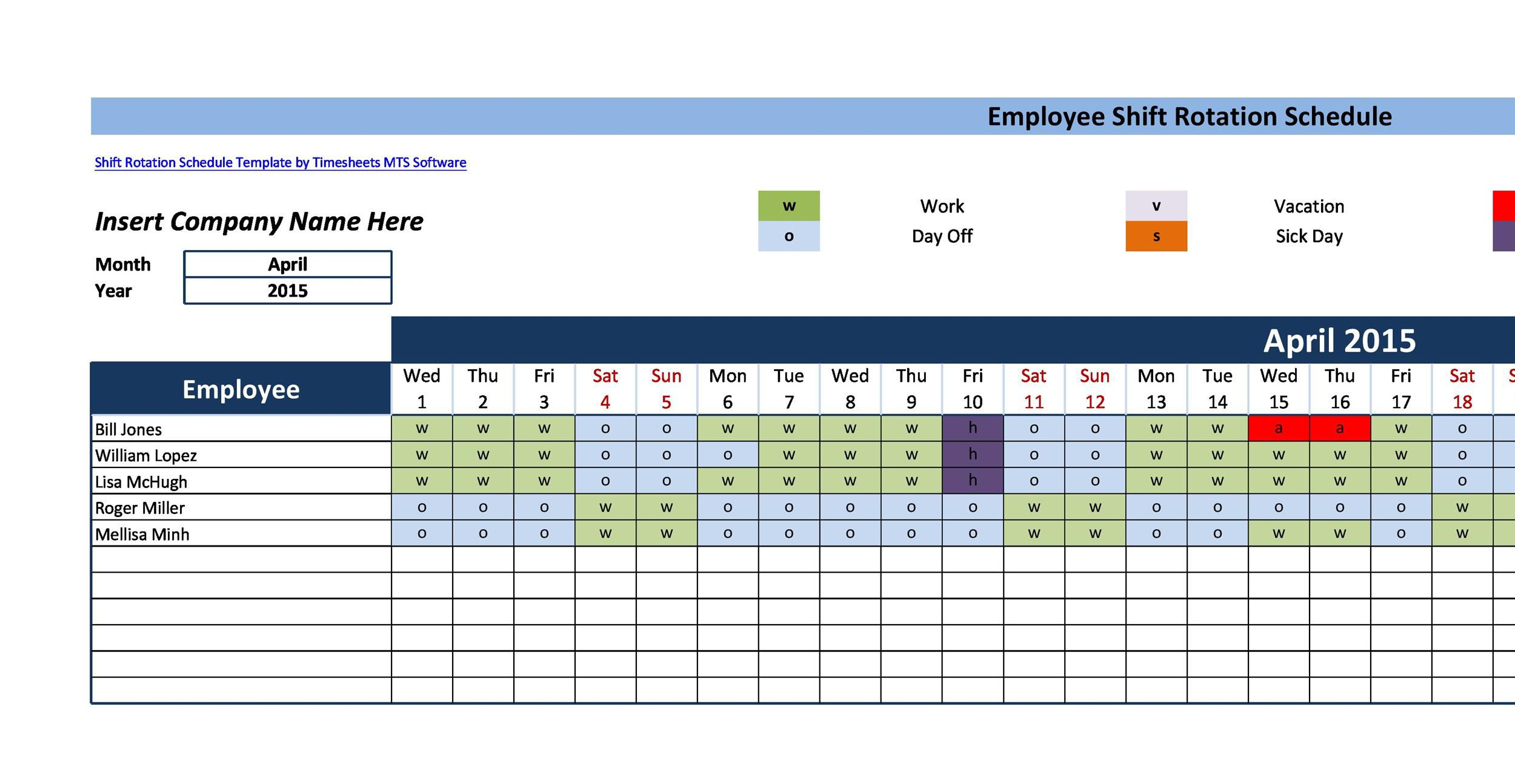005 Stupendou 8 Hour Shift Schedule Template Inspiration  Best Rotating Example Work DayFull