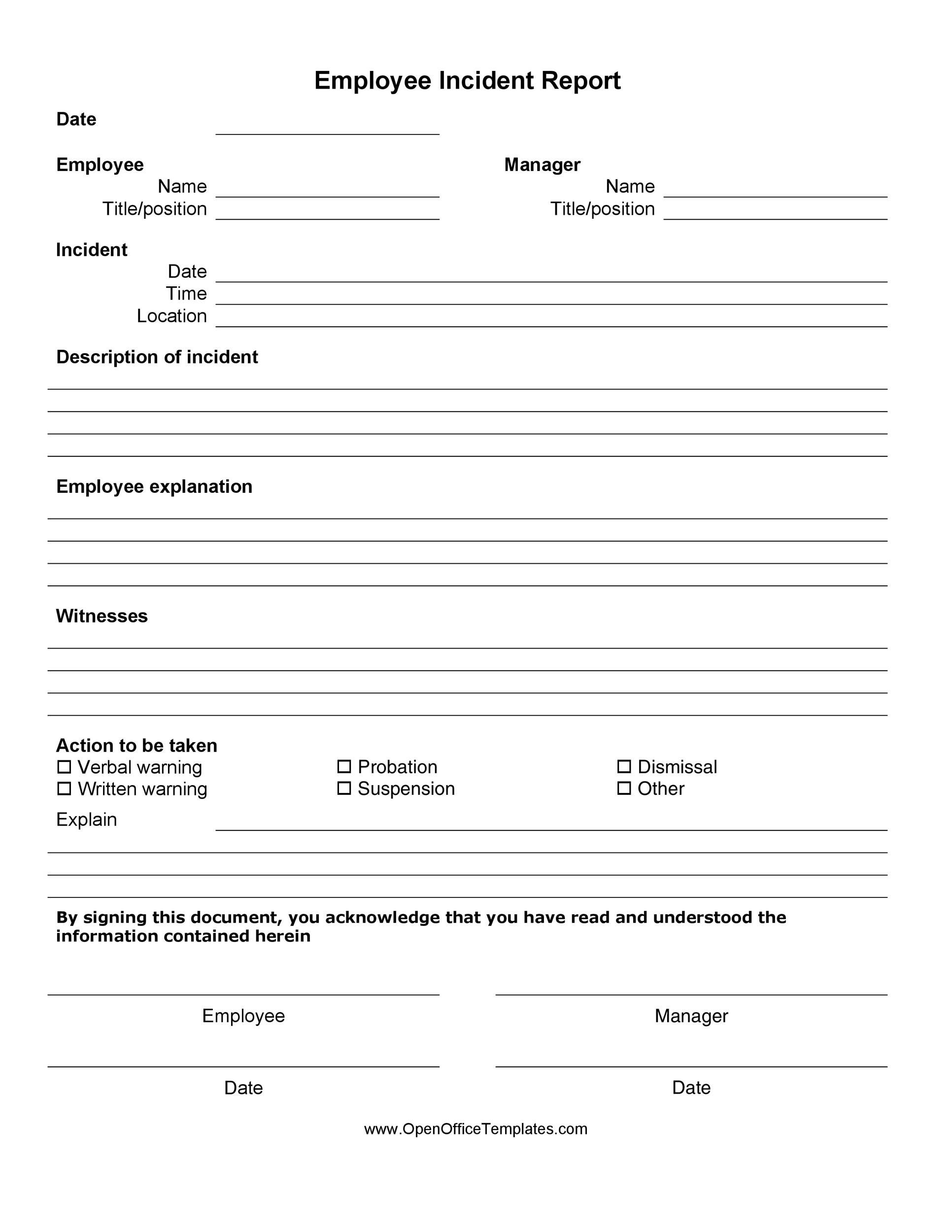 005 Stupendou Accident Report Form Template Inspiration  Templates Free Ireland HseFull