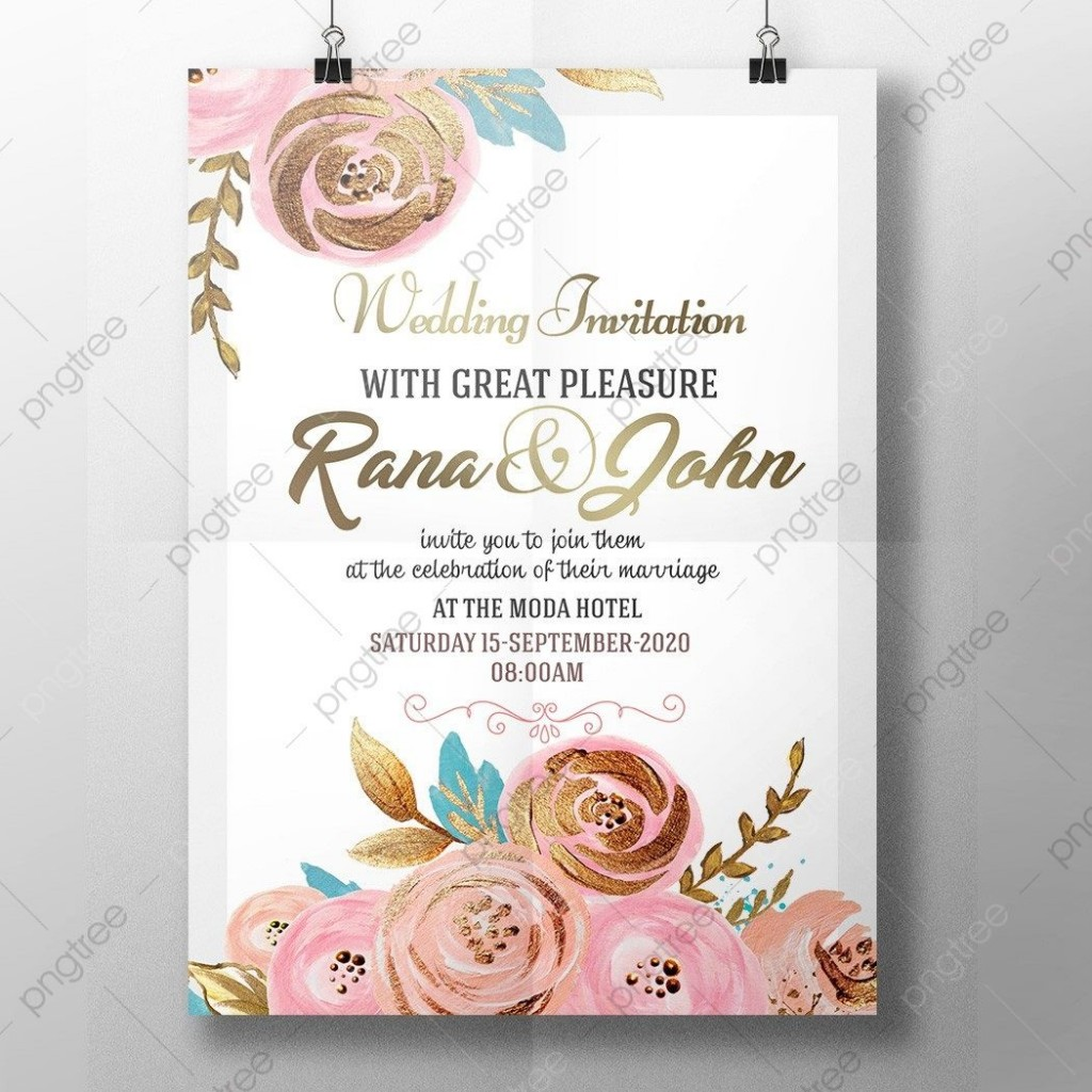 005 Stupendou Free Download Wedding Invitation Template Highest Clarity  Marathi Video Maker Software Editable Rustic For WordLarge