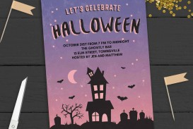 005 Stupendou Free Halloween Party Invitation Template Photo  Printable Birthday For Word Download