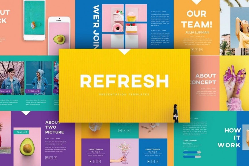 005 Stupendou Free Powerpoint Template Design Image  Download 2019 Thinking 2020