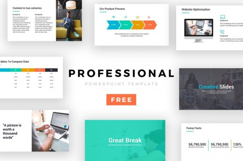 005 Stupendou Free Professional Ppt Template Concept  Presentation Powerpoint 2018 Download 2017480