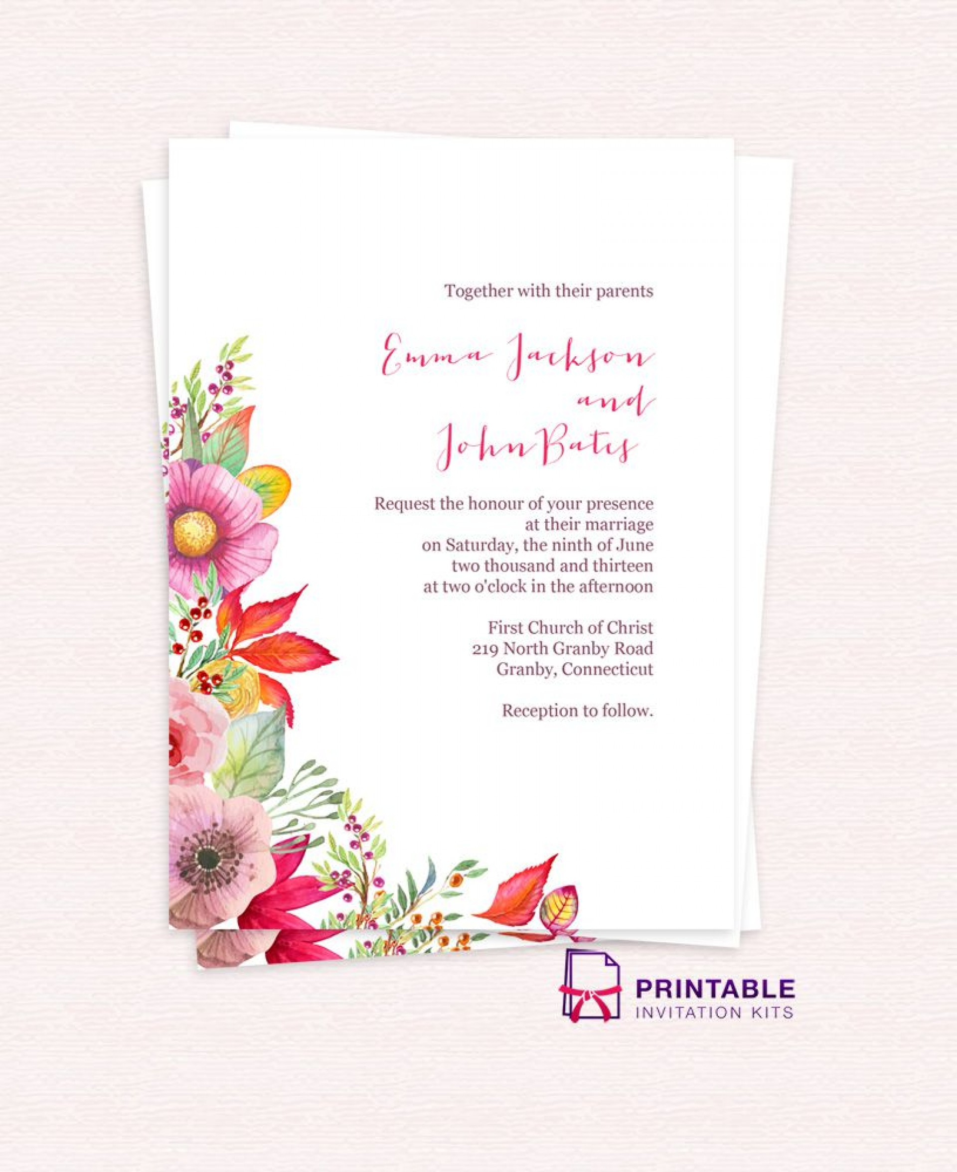 005 Stupendou Free Wedding Invitation Template Download Concept  Psd Card Indian1920