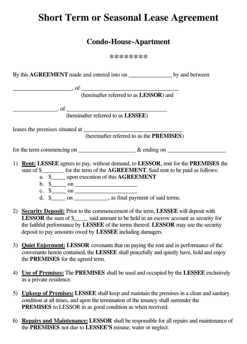 005 Stupendou House Rental Agreement Template Image  Home Free Ireland FormFull