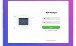 005 Stupendou Html Login Page Template Image  Download Without Cs Bootstrap 4
