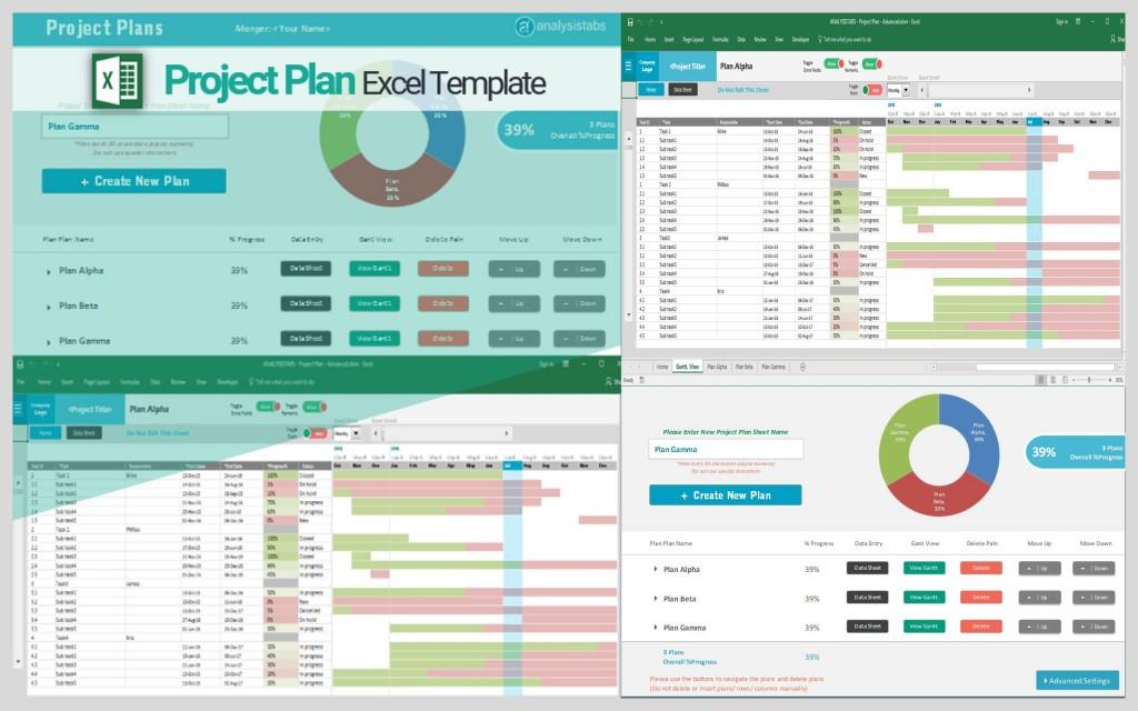 005 Stupendou Project Plan Template Excel Free Image  Action Download Xl XlsxLarge