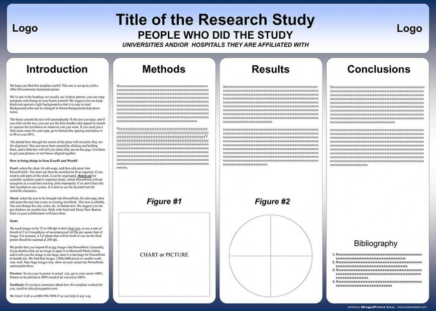 005 Stupendou Research Poster Template Powerpoint Photo  Free Scientific Ppt Academic