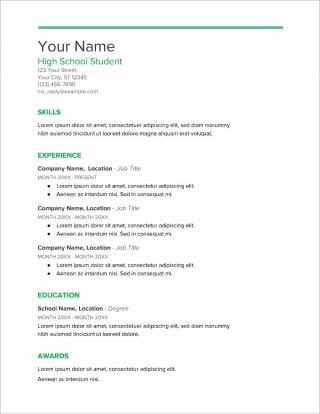 005 Stupendou Resume Template High School Picture  Student Australia For Google Doc Graduate Microsoft Word320