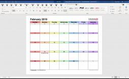 005 Surprising Calendar Template For Word 2007 Sample