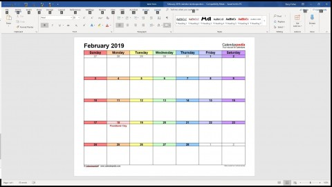 005 Surprising Calendar Template For Word 2007 Sample 480