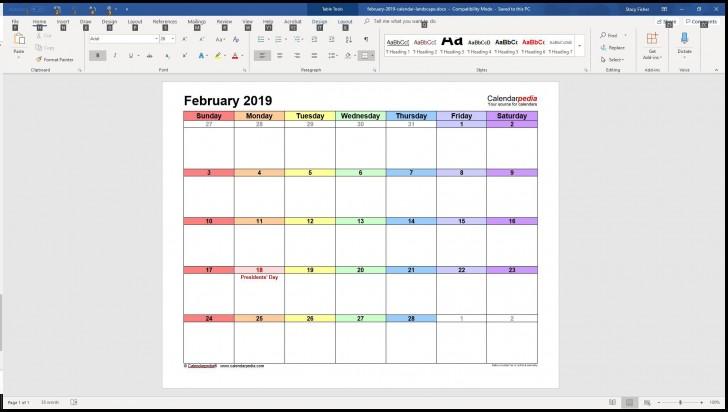 005 Surprising Calendar Template For Word 2007 Sample 728