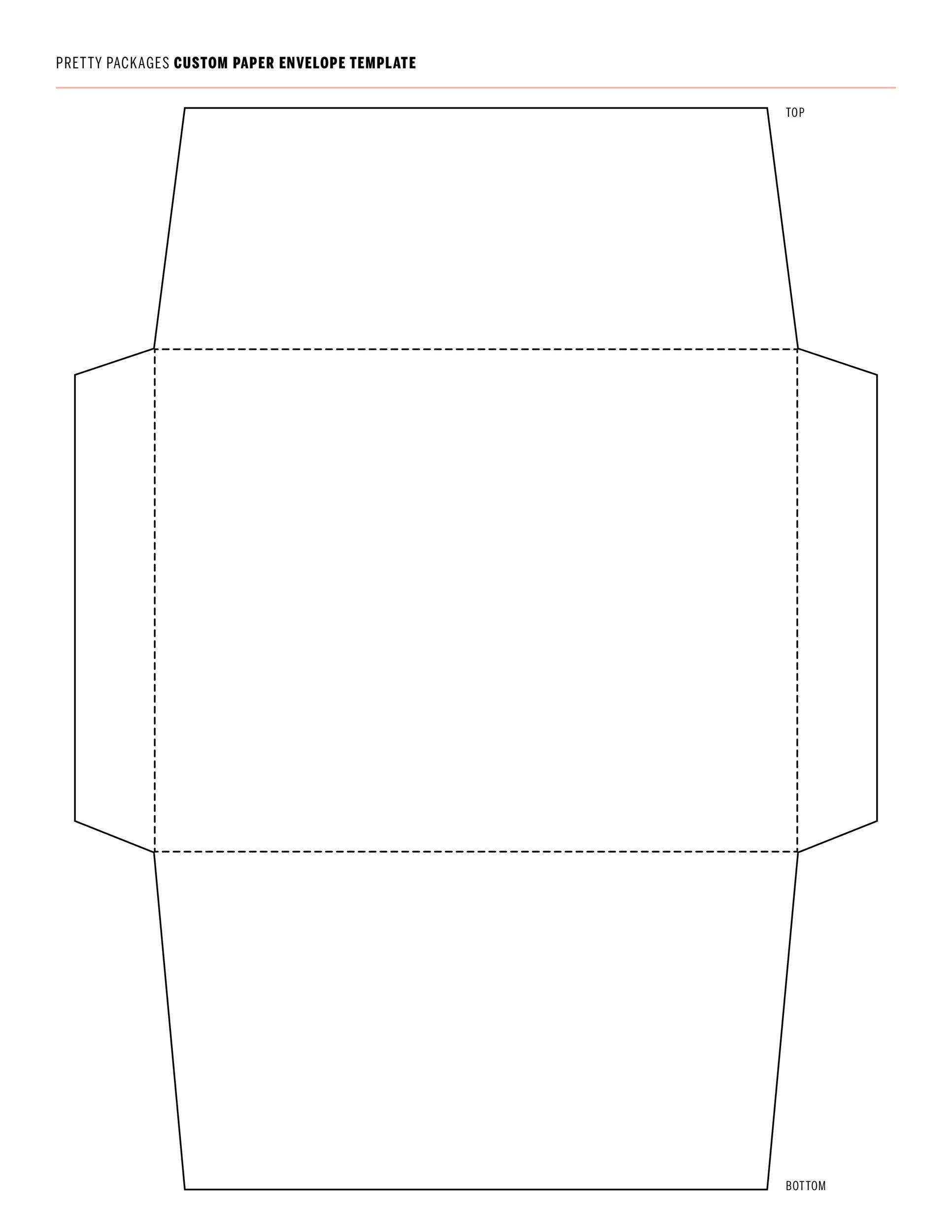 005 Surprising Envelope Template For Word Example  Avery A7 5x7 MicrosoftFull