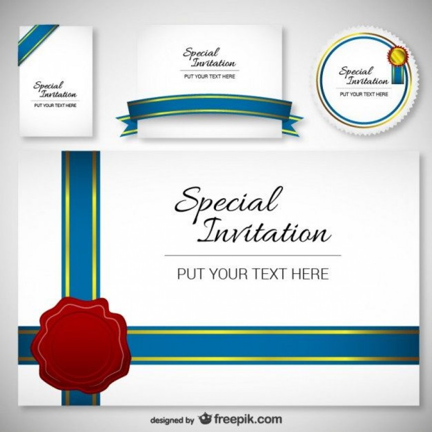 005 Surprising Free Download Invitation Card Design Photo  Birthday Party Blank Wedding Template Software868
