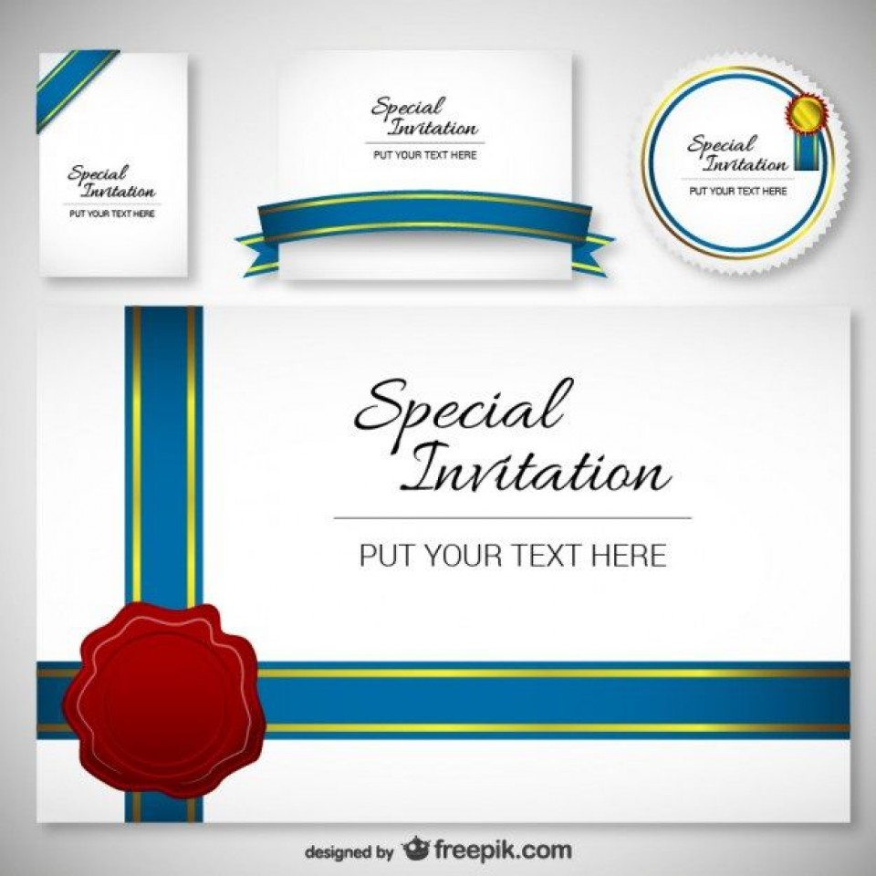 005 Surprising Free Download Invitation Card Design Photo  Birthday Party Blank Wedding Template Software960