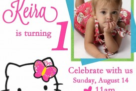 005 Surprising Free Online Birthday Invitation Card Maker With Photo Sample  1st