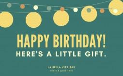 005 Surprising Free Printable Birthday Gift Voucher Template Image