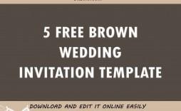 005 Surprising Free Wedding Invitation Template Printable Idea  For Microsoft Word Mac