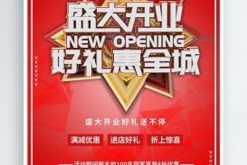 005 Surprising Grand Opening Flyer Template Image  Free Psd Busines