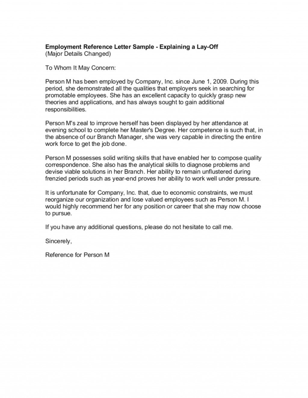005 Surprising Letter Of Reference Template Example  Pdf For Student Volunteer TeacherLarge