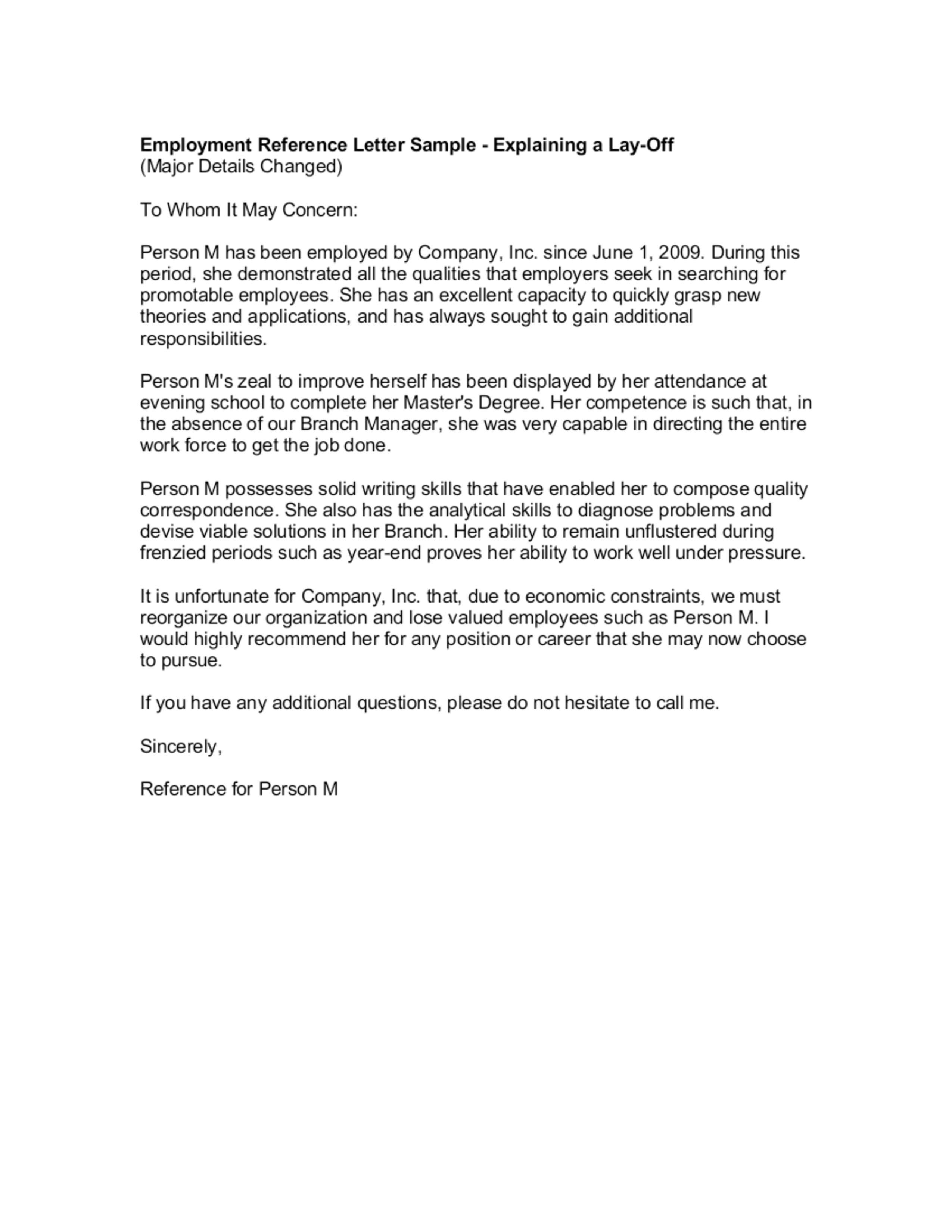 005 Surprising Letter Of Reference Template Example  Pdf For Student Volunteer TeacherFull