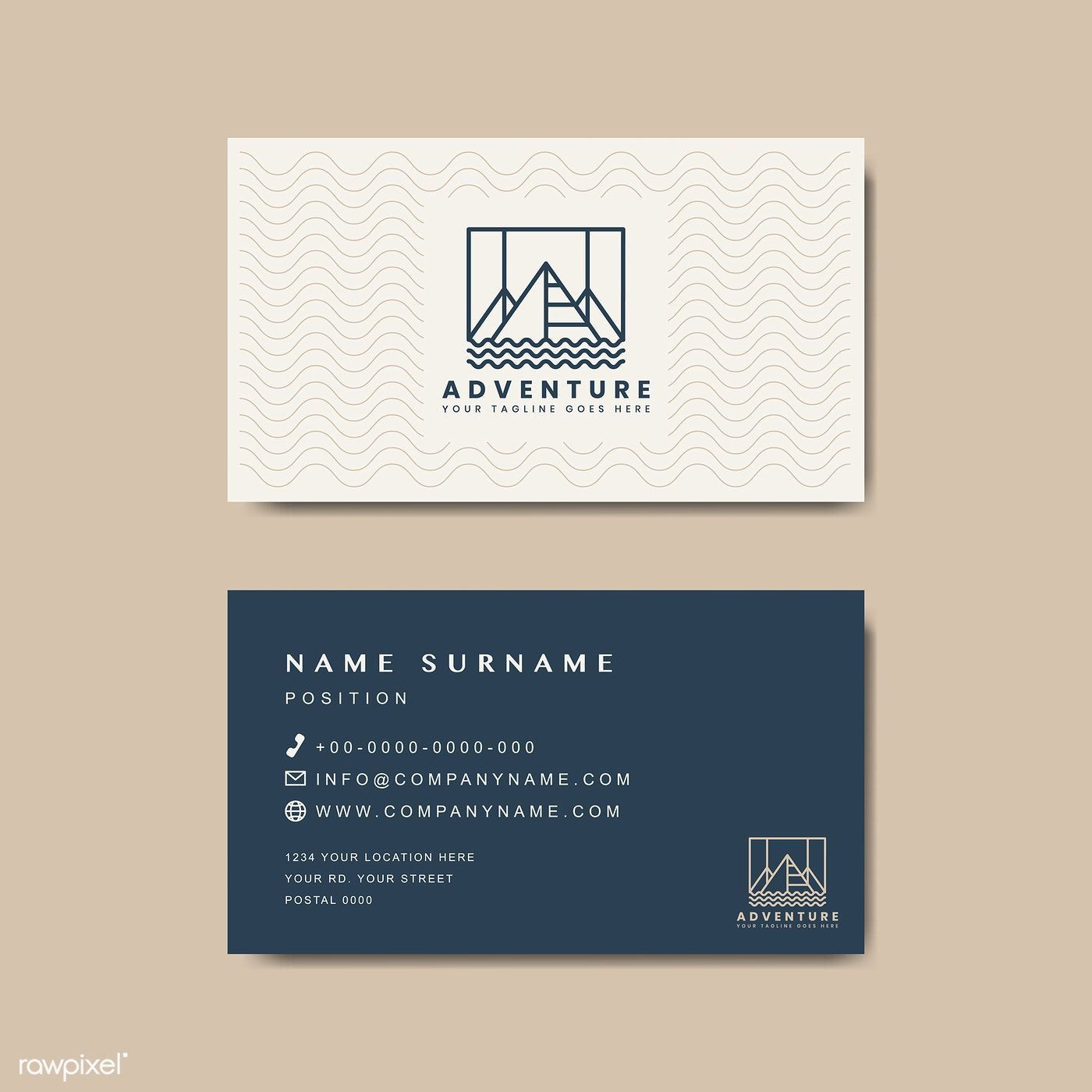 005 Surprising Minimalist Busines Card Template Free Download High Definition Full