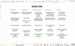 005 Surprising School Lunch Menu Template Photo  Monthly Free Printable Blank