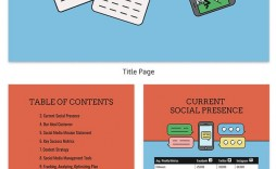 005 Surprising Social Media Plan Sample Example  Marketing Template Pdf Strategy Content