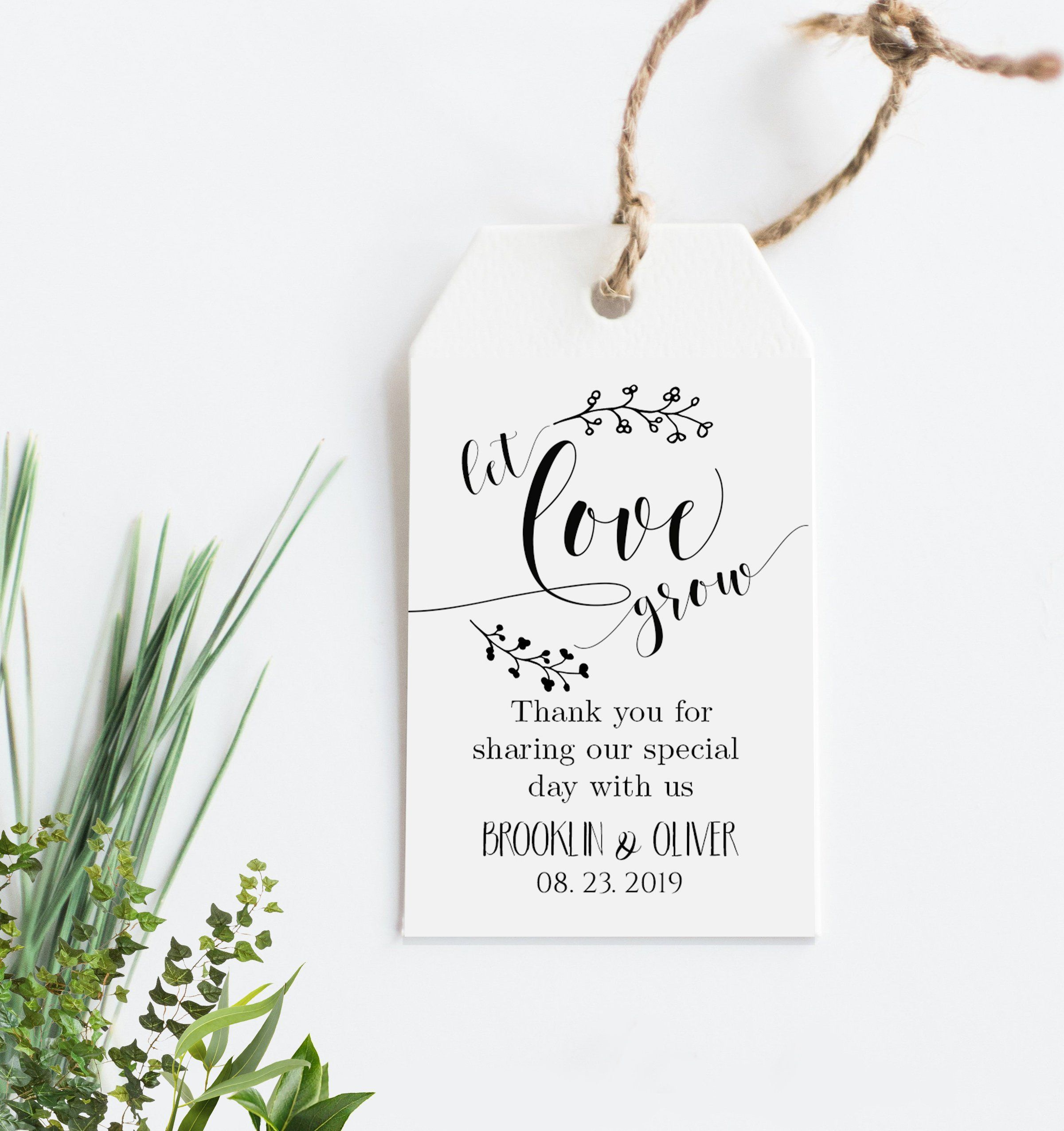 005 Surprising Wedding Favor Tag Template Example  Templates Editable Free Party PrintableFull